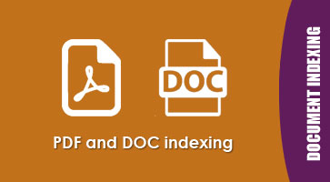 PDF indexing