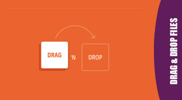 File Upload With Drag & Drop