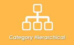 Hierarchical folder structure