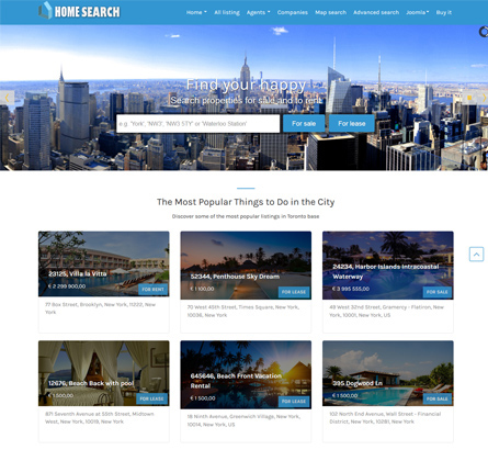 OSP Home Search